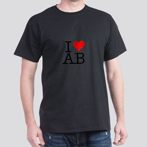 """I [love] AB"" Women's Cap Sleeve T-Shirt"